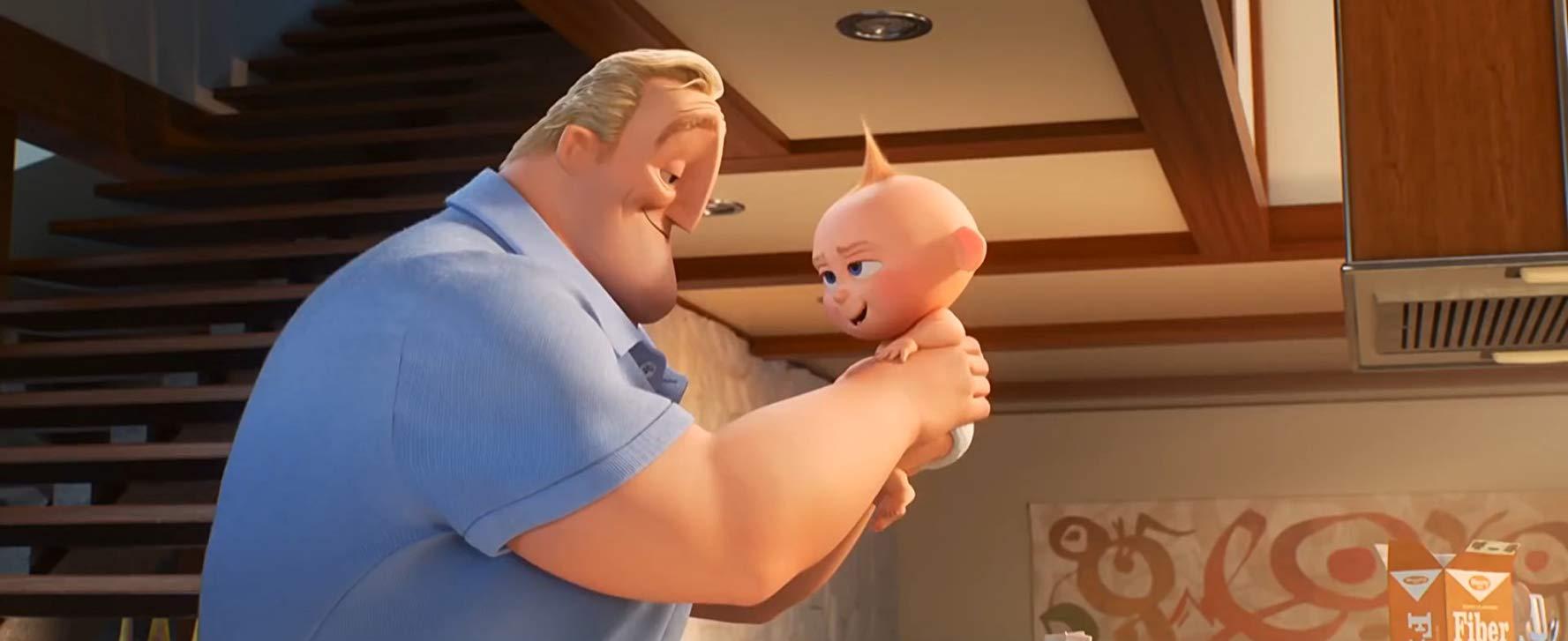 良きパパとしてがんばるボブの姿にも注目