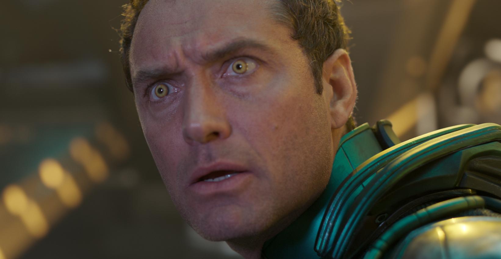 キャプテン・マーベルにボコられるのが怖いヨン・ログ