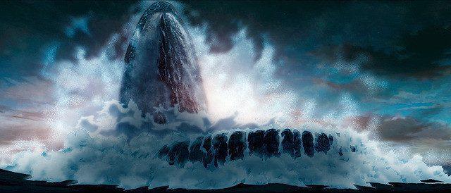 海や空の自然描写、映像がとにかく綺麗で迫力がある