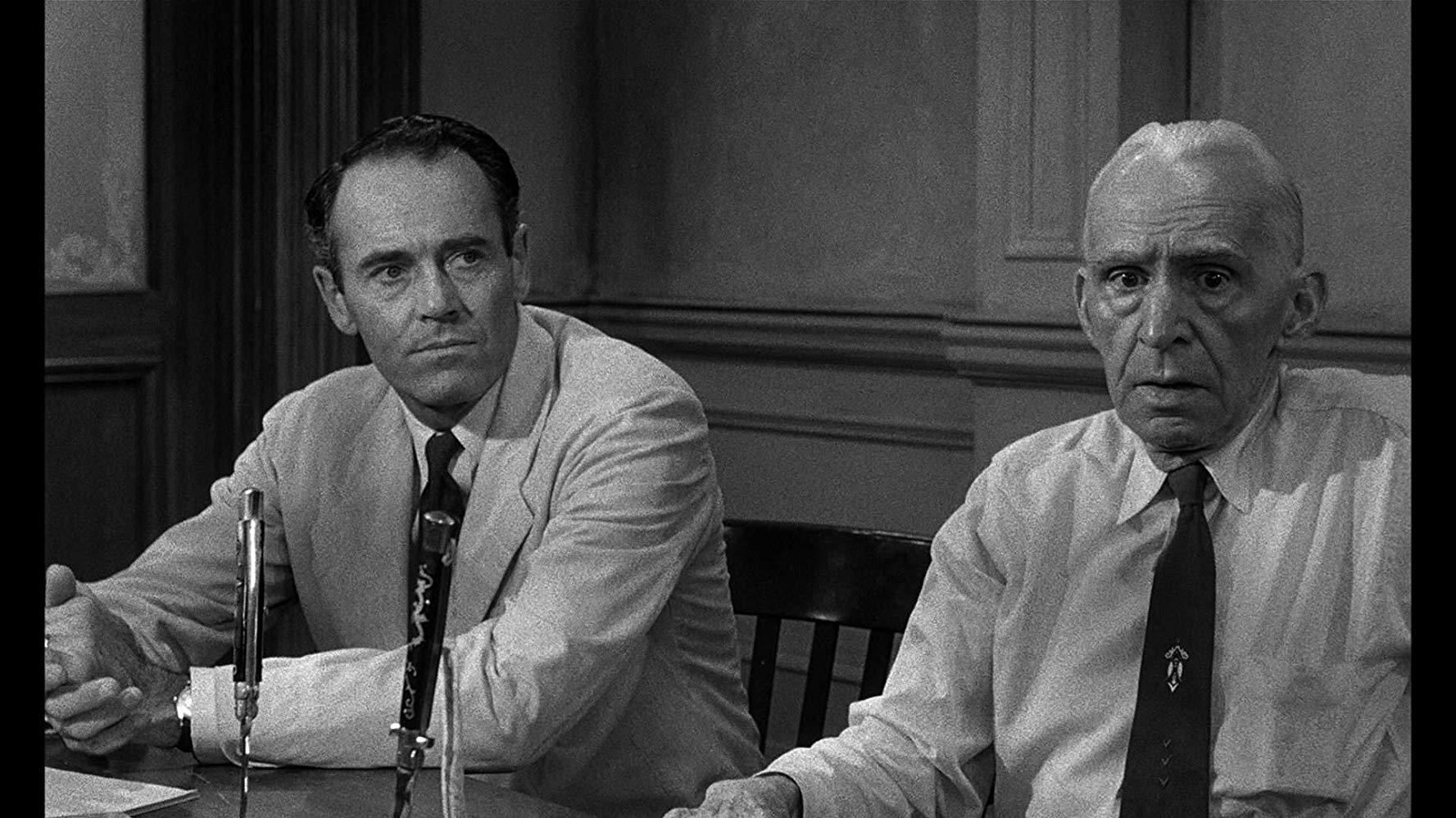 【解説】ヘンリー・フォンダ演じる陪審員8番の熱意が素晴らしい